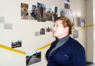 """My Army. See Through Heart"" photo exhibit visits Kramatorsk"