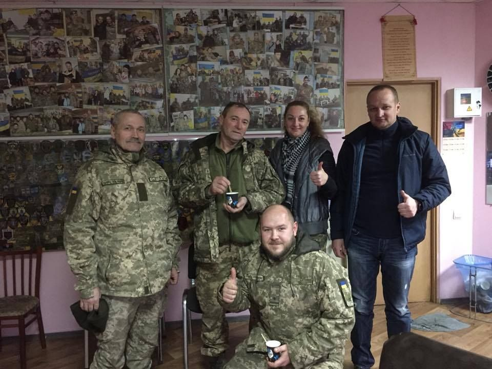 Volunteers of the Dnieper are always ready to accept the military